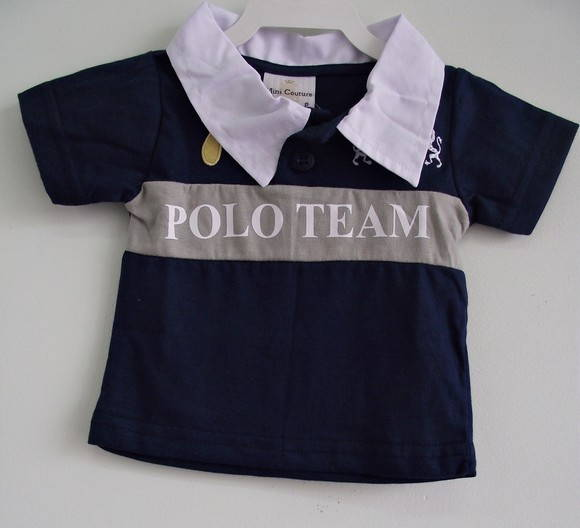 CAMISETA POLO PARA BEB