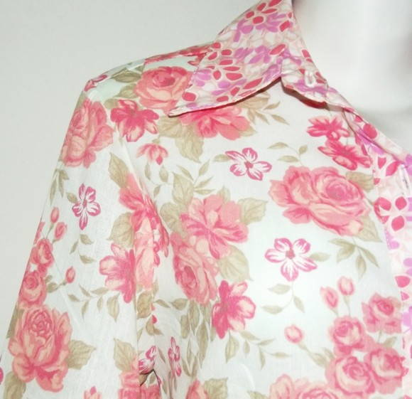 Camisa floral mix