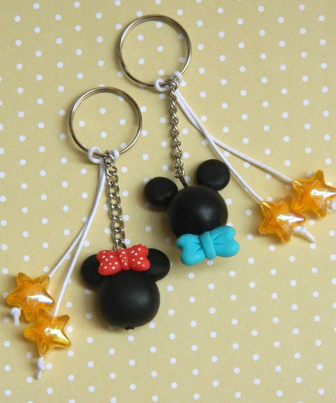 Chaveiro Mickey e Minnie