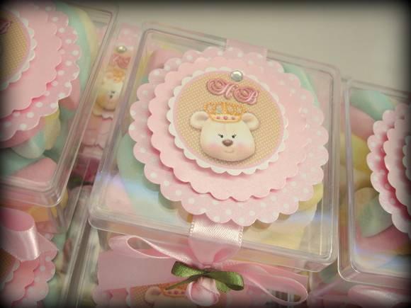 festa jardim dos ursos:Lembrancinha Ursa Princesa