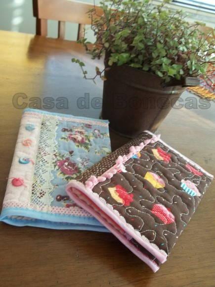 Capas de caderno, livro, agenda