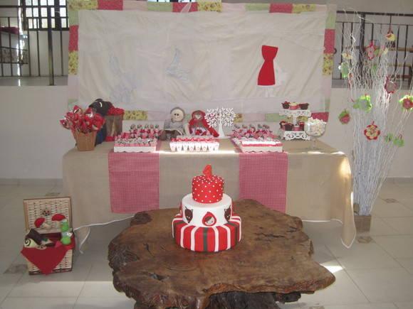 Chap�uzinho Vermelho Decora��o de Festa