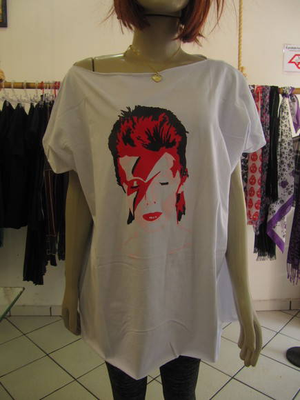 Camiset�o David Bowie