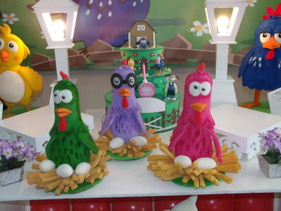 decoracao festa galinha pintadinha eva:Atelier Doces Sonhos Festas: Decoração Galinha Pintadinha Provençal