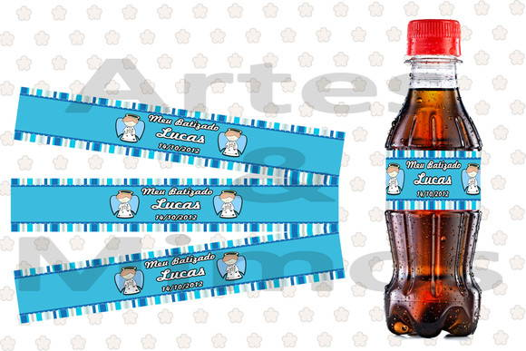 R�tulo Mini Coca Cola