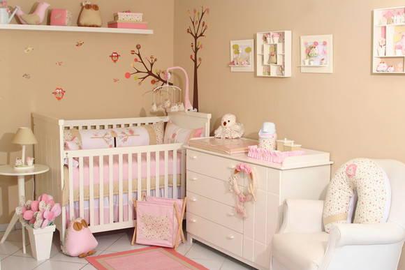 Quarto Infantil Completo Para Bebe ~ Quarto completo de coruja e passarinho  Minimimos  Elo7