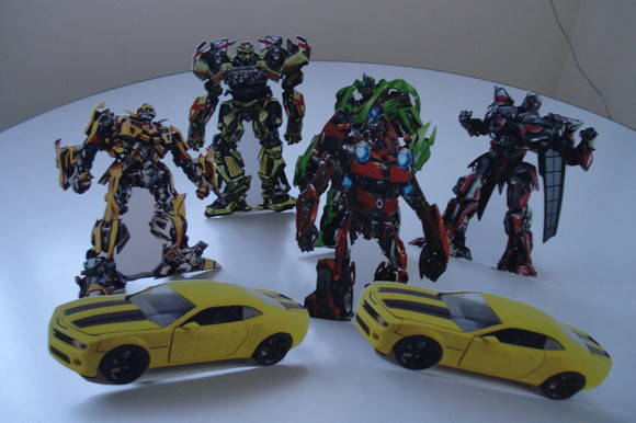 Display de mesa transformers  Toke de Arte  Elo7