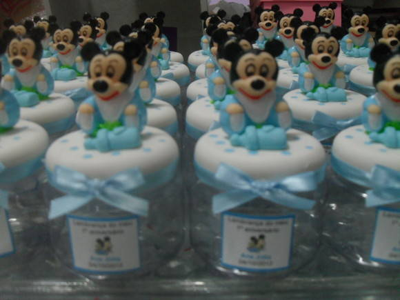Baby Disney pote decorado