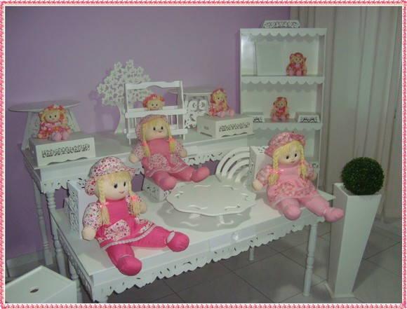 aos favoritos festa das bonecas 10 bonecas 02 mesas retangulares