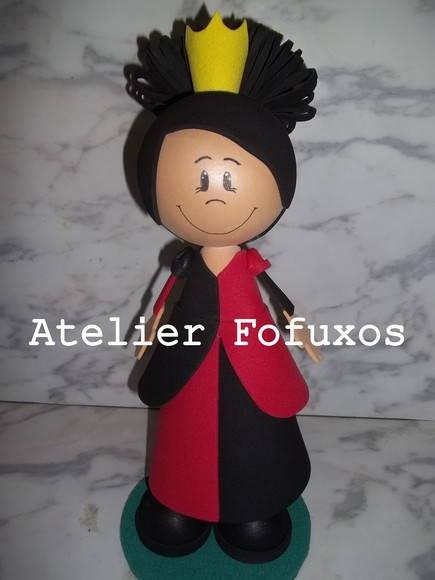 Rainha Vermelha - Alice Fofucha