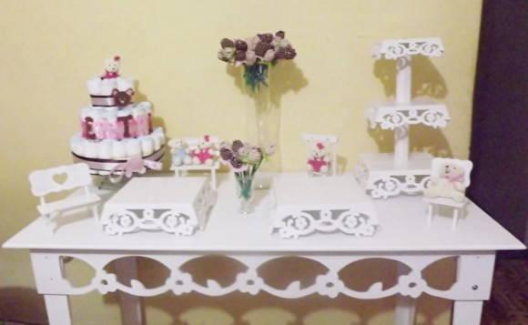 decoracao festa simples:Decoração provençal simples
