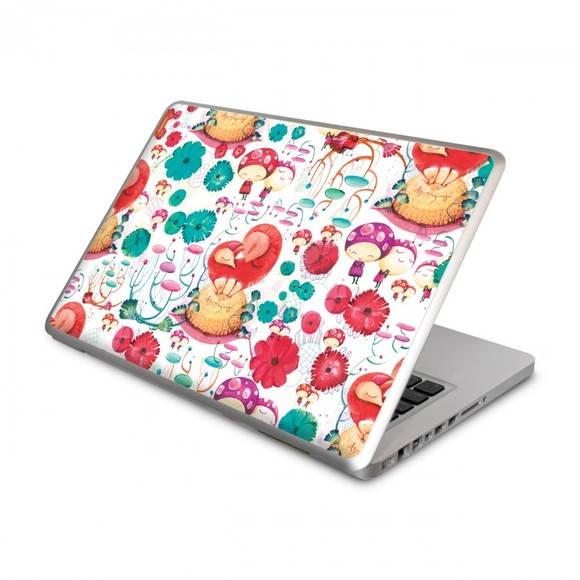 Artesanato De Croche Para Banheiro ~ Adesivo Notebook Elo7