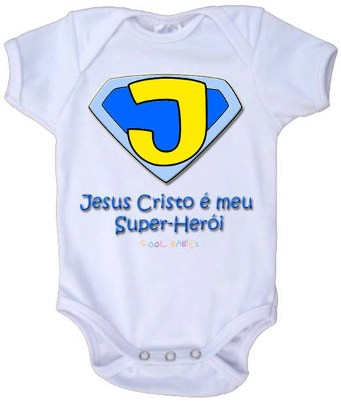 Body De Beb� - Meu Super-Her�i 1