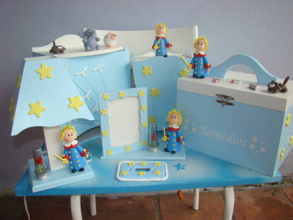 Quarto Infantil O Pequeno Principe ~ Kit de quarto do pequeno pr?ncipe  Nat?lia Artesanato  Elo7