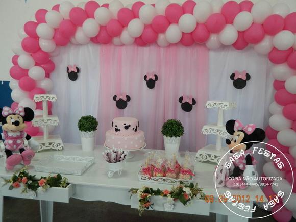 decoracao festa minnie rosa : decoracao festa minnie rosa:Decoracao Da Minnie Rosa