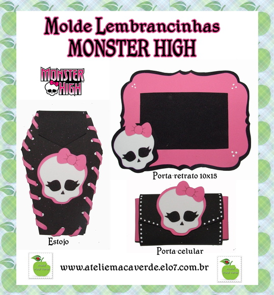 Moldes De Monster High