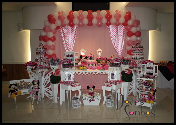 Decora��o d festa minnie proven�al clean