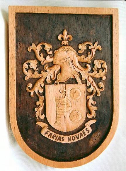 bras�o de fam�lia : Farias Novaes