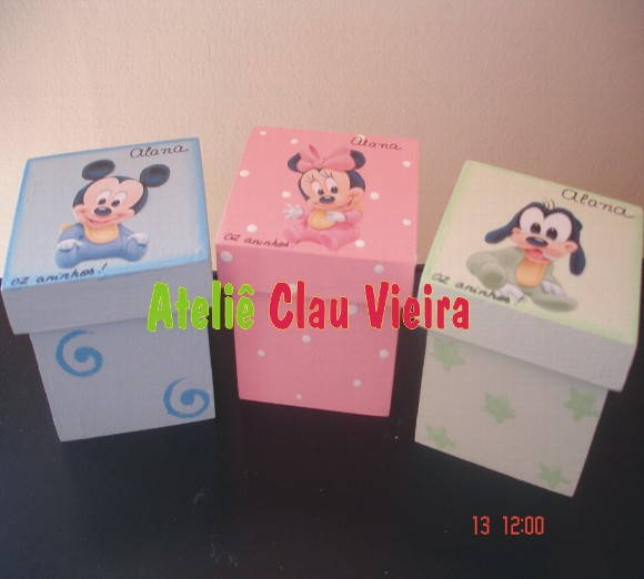LEMBRANCINHAS BABY DISNEY