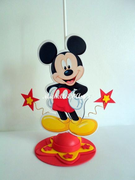 Centros de mesa d Mickey - Imagui
