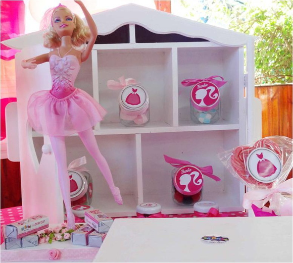 Venda de decora��o completa da barbie