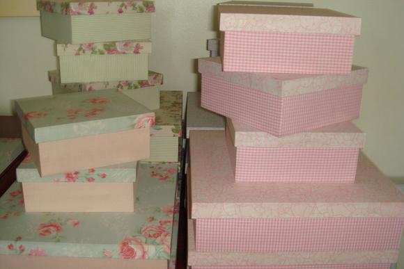 Caixas para presentes ou lembran�as