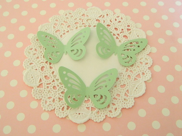 Aplique Green Butterfly (A38)