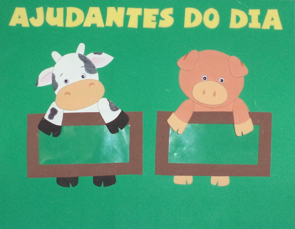 Cartaz Ajudantes do DIa