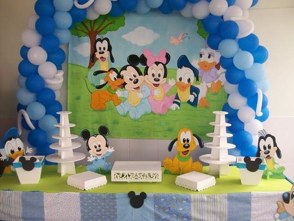 Mesa Tem  Tica Baby Disney   MDF
