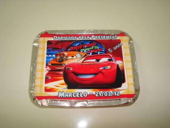Marmitinha Carros Disney
