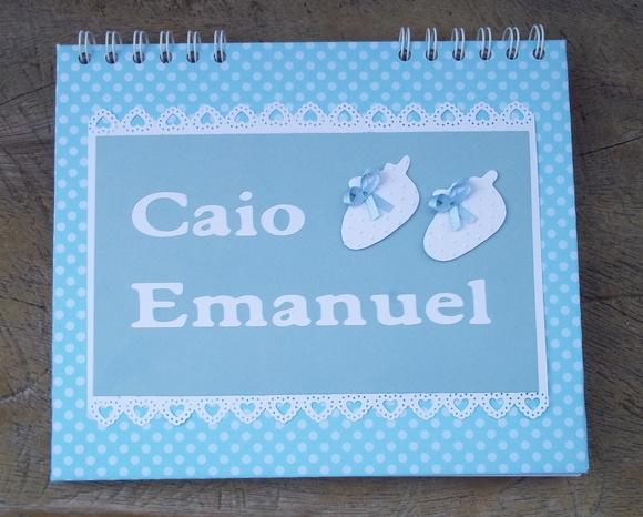 Caderno Lista de Chá de Fraldas20X24cm + | Amor no Papel | Elo7