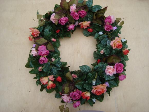 guirlanda de flores artificial