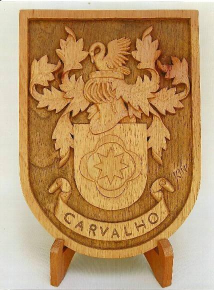 bras�o de fam�lia :Carvalho
