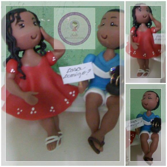 Casal Personalizados para noivado