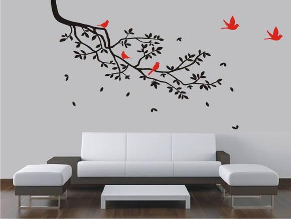 Adesivo Decorativo Parede Galho Árvore FRETE GRÁTIS até
