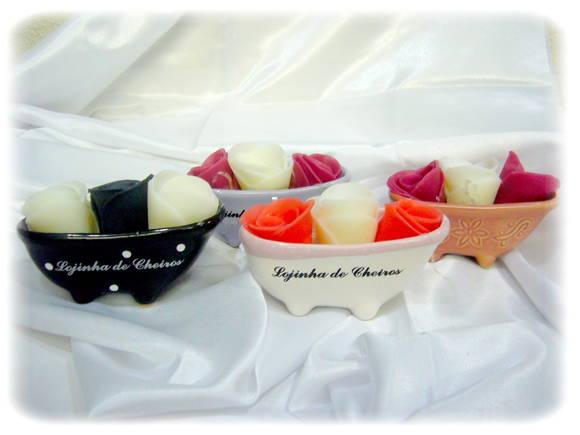 Banheira Com Flores - p�tala (tamanho M)