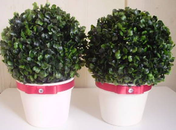 Mini �rvore artificial para decora��o