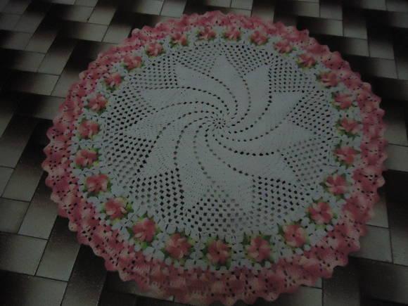 Tapete Catavento com flores