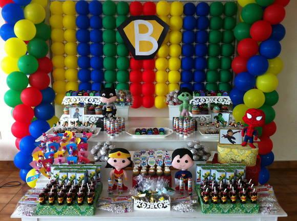 decoracao festa super herois ? Doitri.com