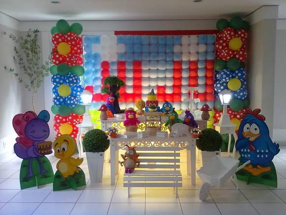 decoracao festa galinha pintadinha rosa:Decoração Galinha Pintadinha (PDS)