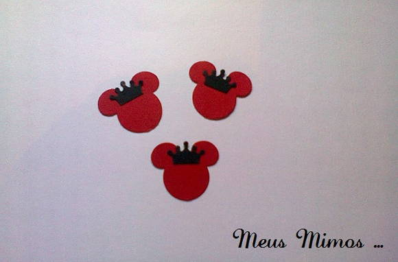 APLIQUE MINIE MOUSE REAL
