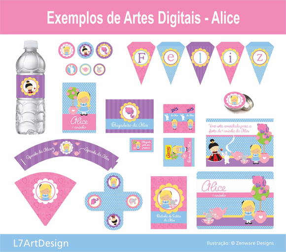 Arte Festa Digital - Alice