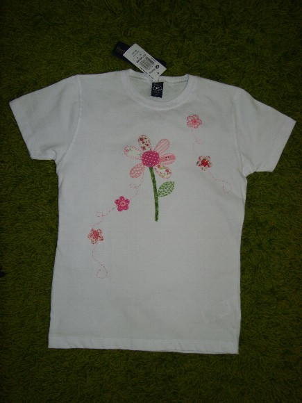 Camiseta Baby Look margarida
