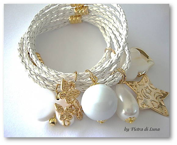 Pulseira Click in White
