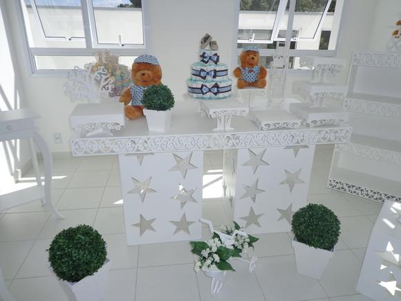 Mesa provençal Chá de bebê