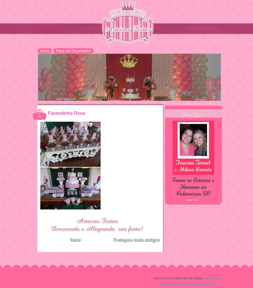 Template Blogspot + Papelaria Digital
