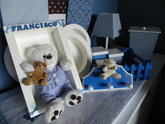 Kit decora��o para quarto do beb�