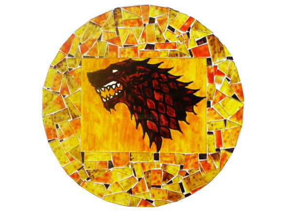 Mandala Game Of Thrones - Casa Stark