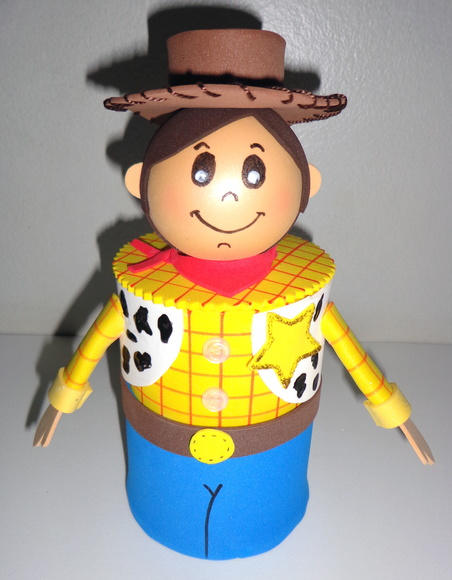 Centro De Mesa Toy Story Woody | ElisaLindARTE | Elo7