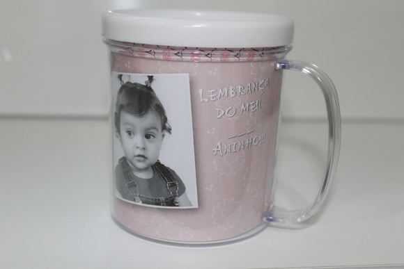 Caneca em Acrlico Personalizada